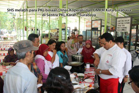 SHS Peduli Warga Surabaya